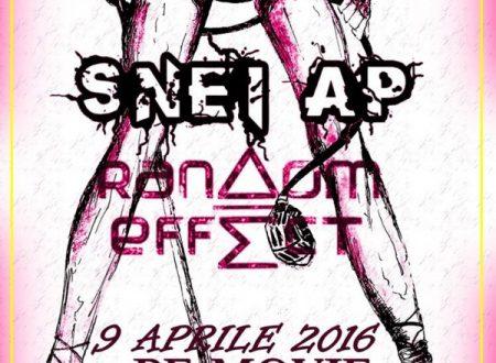 Rebel Circle Night , Female Live : si esibiscono le Snei Ap e le Random Effect