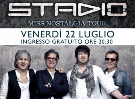 LA GRANDE MUSICA ITALIANA IN ESCLUSIVA A SICILIA OUTLET VILLAGE:  APPUNTAMENTO LIVE CON GLI STADIO