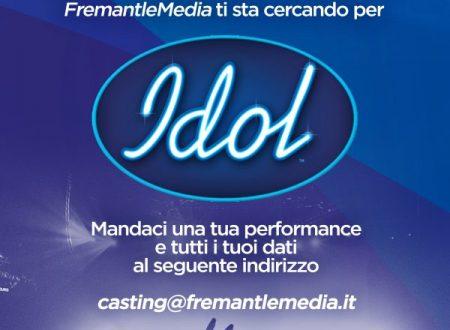 """PROGRAMMA TV """"IDOL"""" – NUOVO TALENT SHOW MUSICALE PER GIOVANI CANTANTI"""