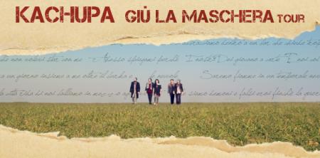 """""""Giù la maschera""""  è il titolo del nuovo album,  in uscita domani, martedì 29 novembre:  un disco tra impegno musicale e sociale, tra integrazione e contraddizioni"""