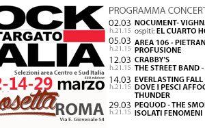 Rock Targato Italia arriva a Roma per le selezioni del Centro Sud Italia