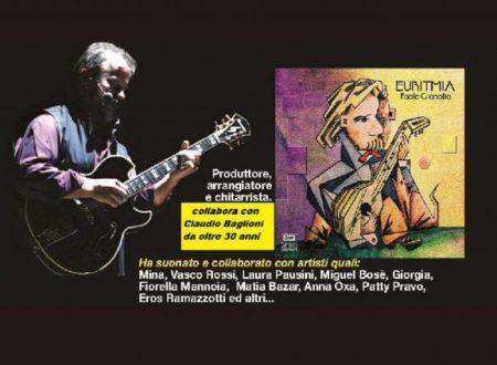 """Intervista con PAOLO GIANOLIO: in occasione dell'uscita del suo nuovo album """"Euritmia"""""""