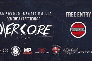 TEMPOROCK in collaborazione con FESTAREGGIO presenta OVERCORE FEST!