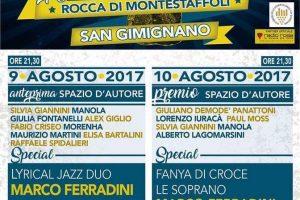 35° Edizione Premio Spazio D' Autore : Premio alla Carriera per Francesco Baccini e Marco Ferradini sul palco anche Fanya Di Croce e il Trio Le Soprano