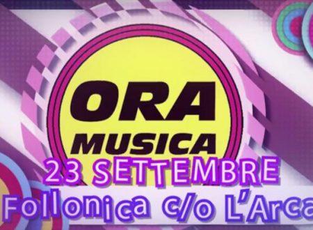 """Sabato 23 Settembre presso L' Arca di Follonica (Gr) """"Ora Musica Estate"""" la serata dedicata alla musica indipendente."""
