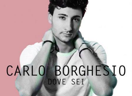 """Carlo Borghesio in radio con il singolo """"Dove sei"""""""