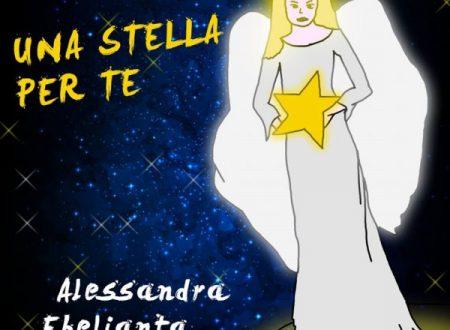 """""""Una stella per te"""", il singolo di Natale da Alessandra Ebelianta in radio dal 30 Novembre"""