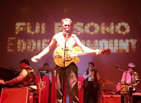 """Mario Monterosso torna in Italia con la commedia musicale """"Fui e sono Eddie Redmount"""" il 16 dicembre al Teatro Manzoni di Roma"""